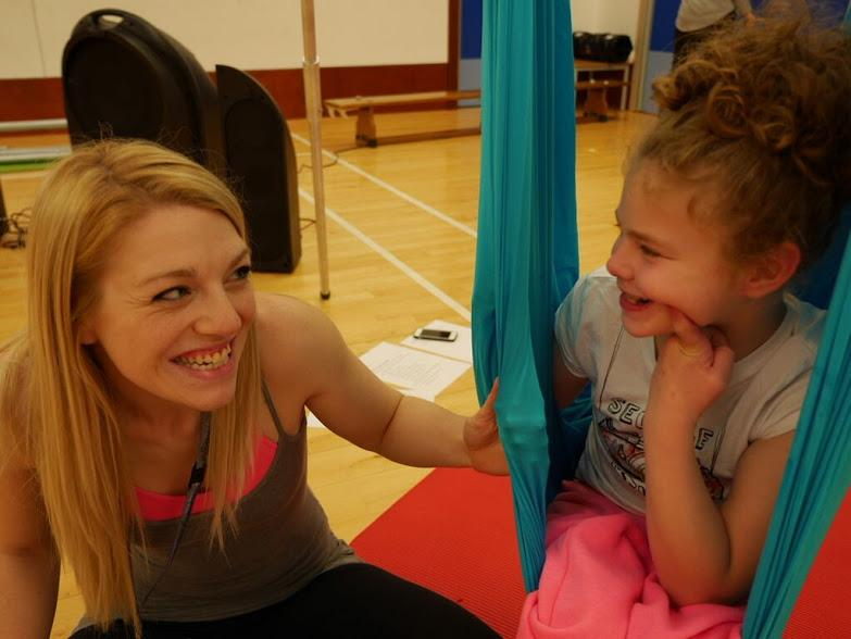Aerial Yoga for children with Special needs