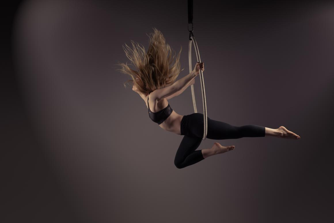 Aerial Hoop for fitness